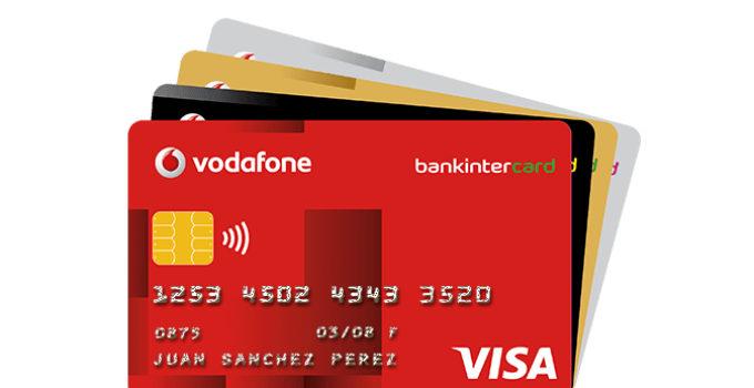Tarjeta Bankinter Vodafone Visa
