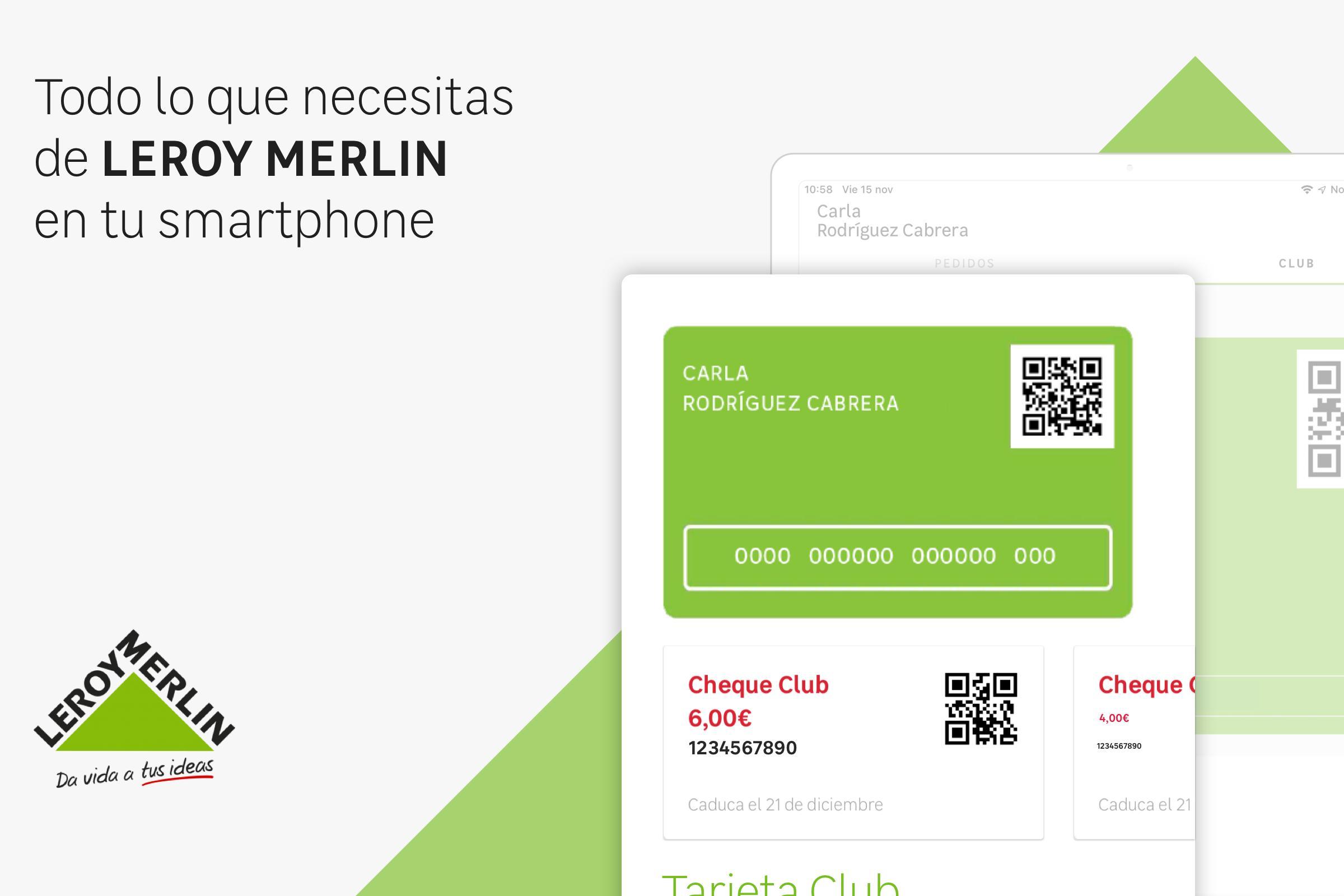 Tarjeta Club Leroy Merlin