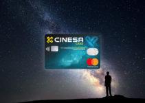 Tarjeta de crédito MasterCard Cinesa 1