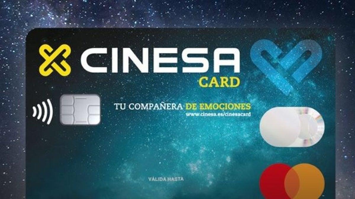 Tarjeta de crédito MasterCard Cinesa