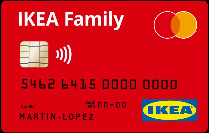 Tarjetas Ikea Family