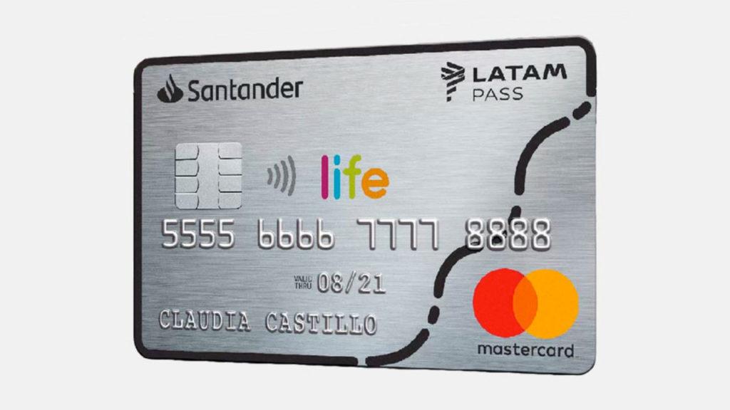 Tarjetas de crédito Banco Santander