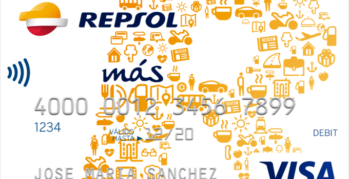 Tarjeta Repsol mas