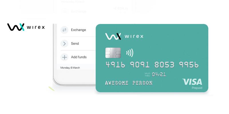 Tarjeta Wirex y aplicación